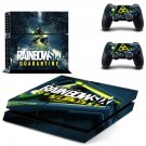 Rainbow Six Quarantine decal skin for PlayStation 4 Console & Controllers