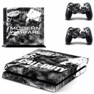 Call of Duty modern warfare decal skin for PlayStation 4 Console & Controllers