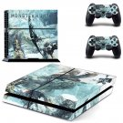 Monster Hunter World iceborne decal skin for PlayStation 4 Console & Controllers