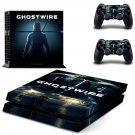 GhostWire decal skin for PlayStation 4 Console & Controllers