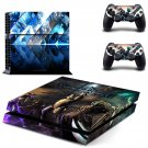 WarFrame decal skin for PlayStation 4 Console & Controllers