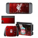 Liverpool FC decal skin for Nintendo Switch Console & Controllers