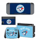 Toronto Blue Jays decal skin for Nintendo Switch Console & Controllers