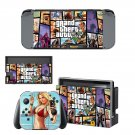 Grand theft Auto 5 decal skin for Nintendo Switch Console & Controllers
