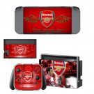 Arsenal decal skin for Nintendo Switch Console & Controllers