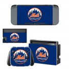 New York Mets decal skin for Nintendo Switch Console & Controllers