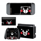 Kumamon decal skin for Nintendo Switch Console & Controllers