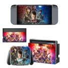 Stranger Things decal skin for Nintendo Switch Console & Controllers