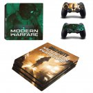 Call of Duty modern warfare decal skin for PS4 Pro Console & Controllers
