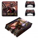 MediEvil decal skin for PS4 Pro Console & Controllers