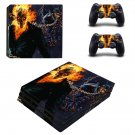 Ghost Rider vs. Scorpion decal skin for PS4 Pro Console & Controllers