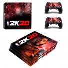 NBA 2K20 decal skin for PS4 Pro Console & Controllers
