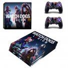 Dogs legion decal skin for PS4 Pro Console & Controllers