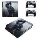 The Witcher wild Hunt 3 decal skin for PS4 Pro Console & Controllers