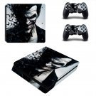The Joker decal skin for PS4 Slim Console & Controllers