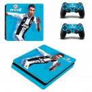 FIFA 19 Ronaldo decal skin for PS4 Slim Console & Controllers