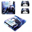 Monster Hunter World iceborne decal skin for PS4 Slim Console & Controllers