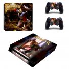 MediEvil decal skin for PS4 Slim Console & Controllers