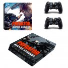 Predator Hunting Grounds decal skin for PS4 Slim Console & Controllers