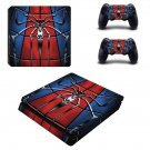 Spider Man decal skin for PS4 Slim Console & Controllers
