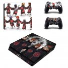Naruto decal skin for PS4 Slim Console & Controllers
