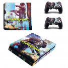 Cyberpunk 2077 decal skin for PS4 Slim Console & Controllers