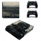 Death Stranding decal skin for PS4 Slim Console & Controllers