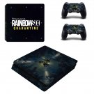 Rainbow Six Quarantine decal skin for PS4 Slim Console & Controllers