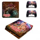 Stranger Things decal skin for PS4 Slim Console & Controllers