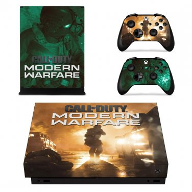 Call Of Duty Modern Warfare Decal Skin For Xbox One X Console Controllers