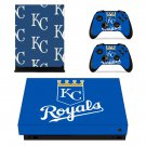 Kansas City Royals decal skin for Xbox one X Console & Controllers