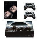 Death Stranding decal skin for Xbox one X Console & Controllers