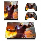 Iron Man decal skin for Xbox one X Console & Controllers
