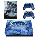 Monster Hunter World iceborne decal skin for Xbox one X Console & Controllers