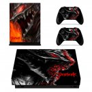 Berserk decal skin for Xbox one X Console & Controllers