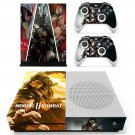 Mortal Kombat 11 decal skin for Xbox One S console and controllers
