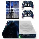 Strar Wars Jedi fallen order decal skin for Xbox One S console and controllers