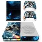 Game of Thrones decal skin for Xbox One S console and controllers