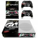 Gran Turismo decal skin for Xbox one S Console & Controllers