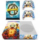 Borderlands 3 decal skin for Xbox one S Console & Controllers