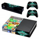 Minecraft decal skin for Xbox one Console & Controllers