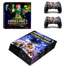 Minecraft decal skin for PS4 Pro Console & Controllers