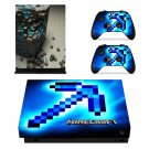 Minecraft decal skin for Xbox one X Console & Controllers