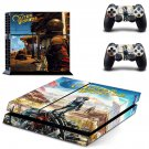 The Outer Worlds decal skin for PlayStation 4 Console & Controllers