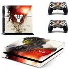 Destiny 2 Shadow keep decal skin for PlayStation 4 Console & Controllers