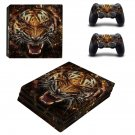 Tiger decal skin for PS4 Pro Console & Controllers