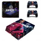 FIFA 20 decal skin for PS4 Pro Console & Controllers