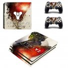 Destiny 2 Shadow keep decal skin for PS4 Pro Console & Controllers