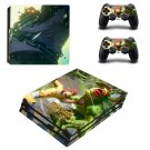 Monkey King Hero is Back decal skin for PS4 Pro Console & Controllers