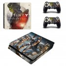 Destiny 2 Shadow keep decal skin for PS4 Slim Console & Controllers